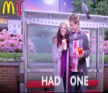 McDonalds Lenticular Online<BR />&#8216;Had One/Had None&#8217;<BR /><BR />Sound Design<BR />Dubbing Mix