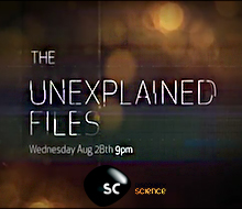 Unexplained Files<BR />DISCOVERY SCIENCE<BR /><BR />LOCATION SOUND