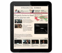 Financial Times<BR /><BR />Sound Design<BR />Original Music